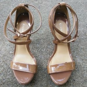Gianni Bini Tan Heels - 6M